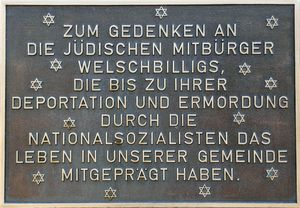 Welschberg Memorial to those deported