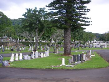Oahu Cemetery (Jewish Section), Honolulu, Hawaii
