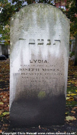 Moses, Lydia nee Levy