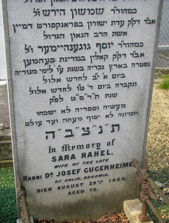 Gugenheimer, Sara Rahel (married name)