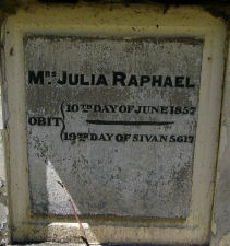 Raphael, Julia (married name)