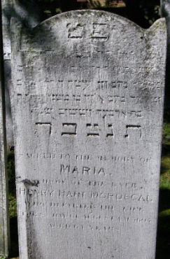 Mordecai, Maria  (married name)