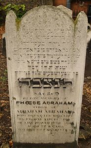 Abrahams, Phoebe (married name)