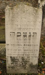 Abraham, Rachel (married name)