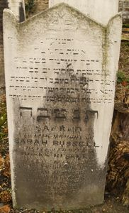 Russell, Sarah (nee Levin)