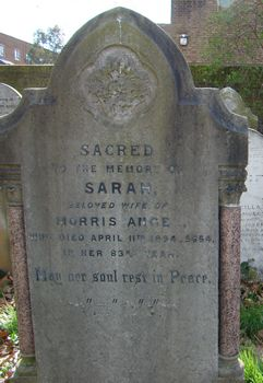 Angel, Sarah (married name)