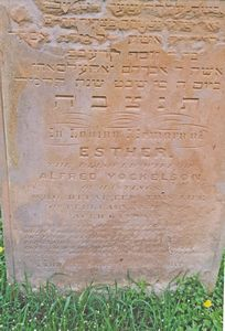 Yockelson, Esther (married name)