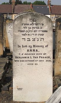Van Praagh, Anna (married name)
