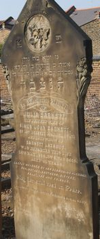 Barnett, Julia formerly Lazarus (married name)