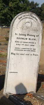 Blum, Rosalie (married name)