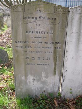 De Jongh, Henriette (married name)