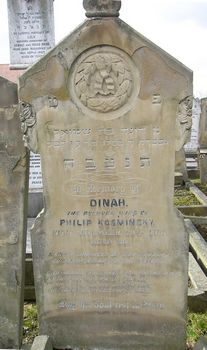 Kosminsky, Dinah (married name)