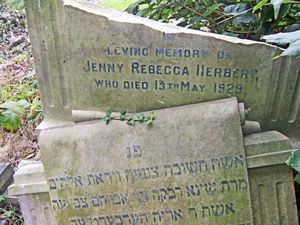 Herbert, Jenny Rebecca (married name)