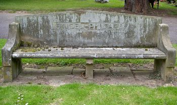 Faudel-Phillips family memorial bench
