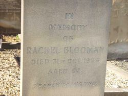 Blooman, Rachel (married name)