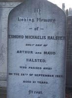 Halsted, Esmond Michaelis
