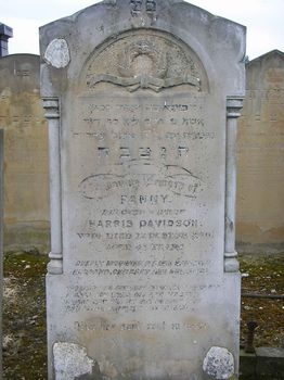 Davidson, Fanny (married name)