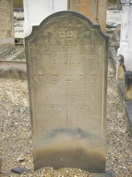 Levy, Fanny (married name)