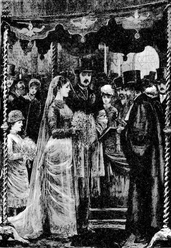 THE MARRIAGE OF MR. LEOPOLD DE ROTHSCHILD AND MDLLE. MARIE PERUGIA