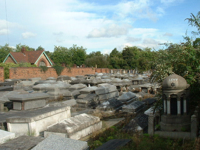 Urmston Jewish Cemetery - general view