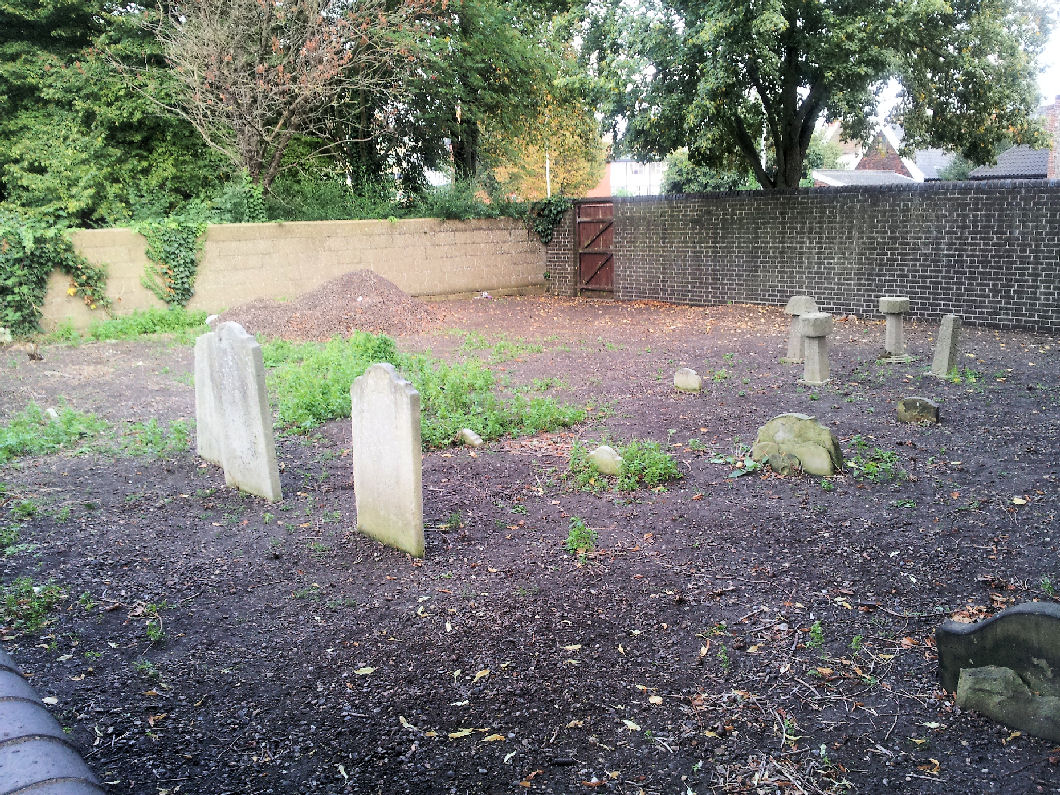 Quakers Lane Burial Ground (after clean up)