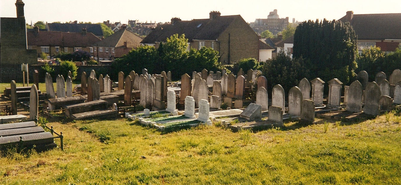 Ramsgate Jewish Cemetery - general view