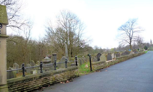Philips Park Cemetery - Jewish section, general view