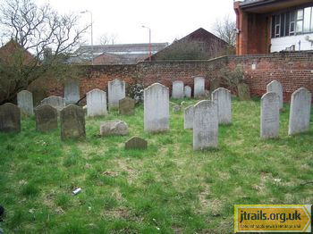 Ipswich Old Jewish Cemetery - general view
