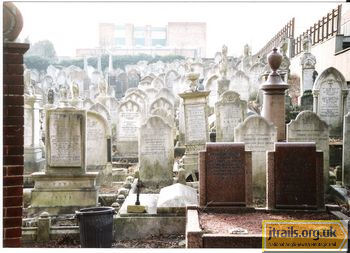 Brighton Jewish Cemetery - general view