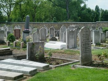 Willesden Liberal Jewish Cemetery - General view