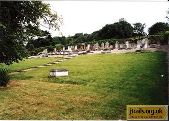 Dover Jewish Cemetery - general view