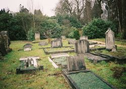 Aldershot Cemetery - general view