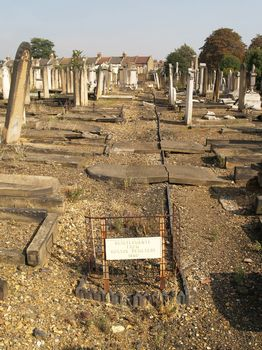 Hoxton Cemetery - General View of re-interrments at West Ham Cemetery