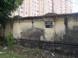 Penang Jewish Cemetery - Cohen and Levi section