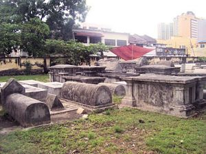 Penang Jewish Cemetery - General view