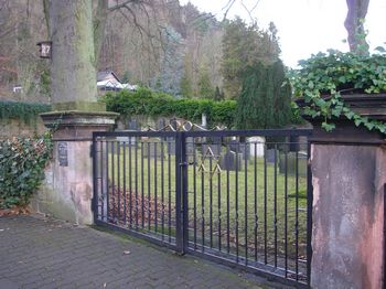Landstuhl Jewish Cemetery, Germany - entrance
