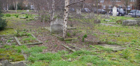 Bancroft Road Cemetery - general view Feb 2008